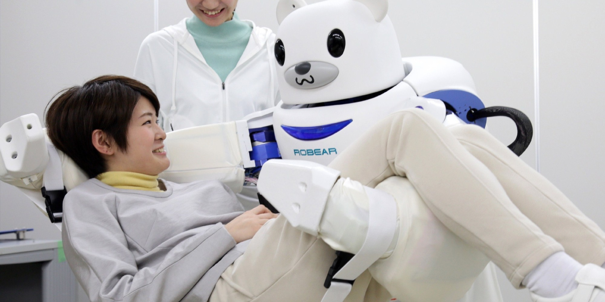 JAPAN-SCIENCE-TECHNOLOGY-ROBOT ELDERLY